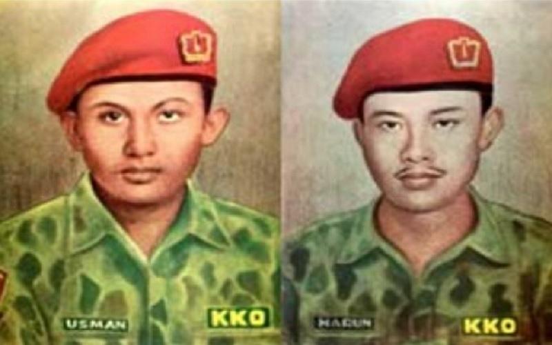 Isi Surat Mengharukan Prajurit KKO Usman-Harun Sebelum Dihukum Gantung di Singapura