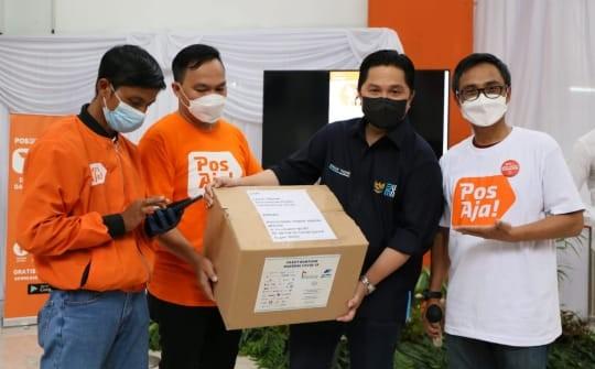 Erick Thohir Harap Pos Indonesia Jadi Central Distribution Hub di Indonesia