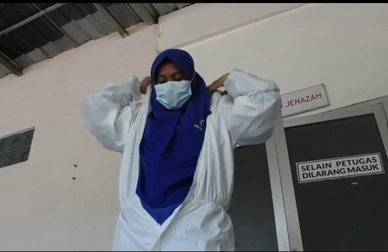 Kisah Nakes Perempuan Relawan Pemakaman Jenazah Covid-19 Siaga 24 Jam hingga Jarang Pulang