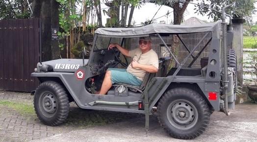 Fakta-Fakta Menarik Koleksi Mobil Perang SBY, Ditemukan Sudah Berkarat Dihidupkan Kembali Heru Lelono