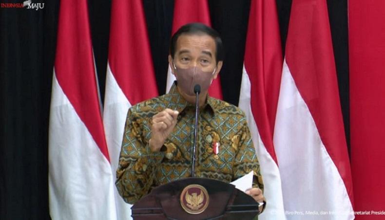 Jokowi Soroti Kasus Kematian akibat Covid-19 di Aceh Masih Tinggi