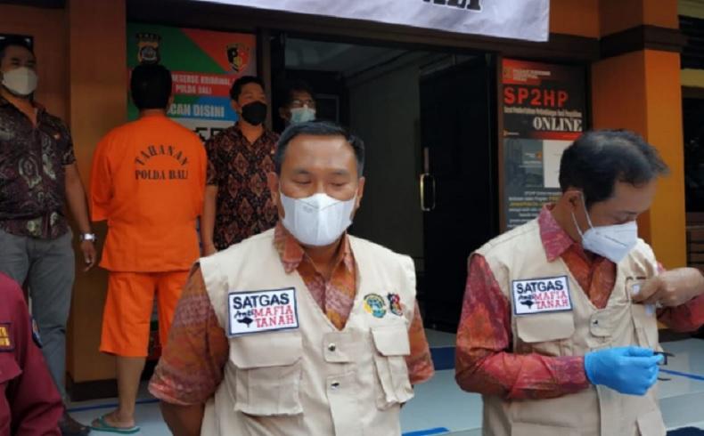 Mantan Kades di Bali Jadi Tersangka Pemalsuan Akta Tanah, Korban Rugi Rp832 Juta