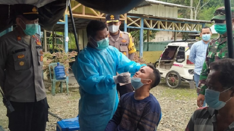 Madina Terapkan PPKM Level 4, Warga Luar Daerah Wajib Swab Antigen