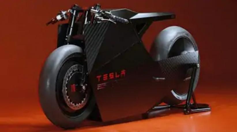 Tesla Pamerkan Konsep Sepeda Motor Listrik, Begini Penampakannya