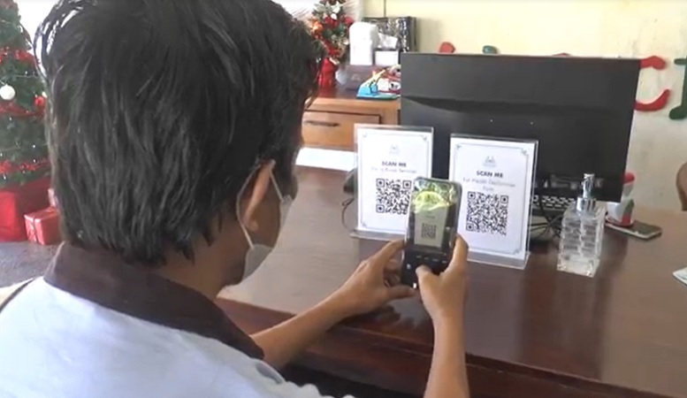 Pariwisata Bali Mulai Dibuka, Ribuan Barcode PeduliLindungi Dipasang di Objek Wisata