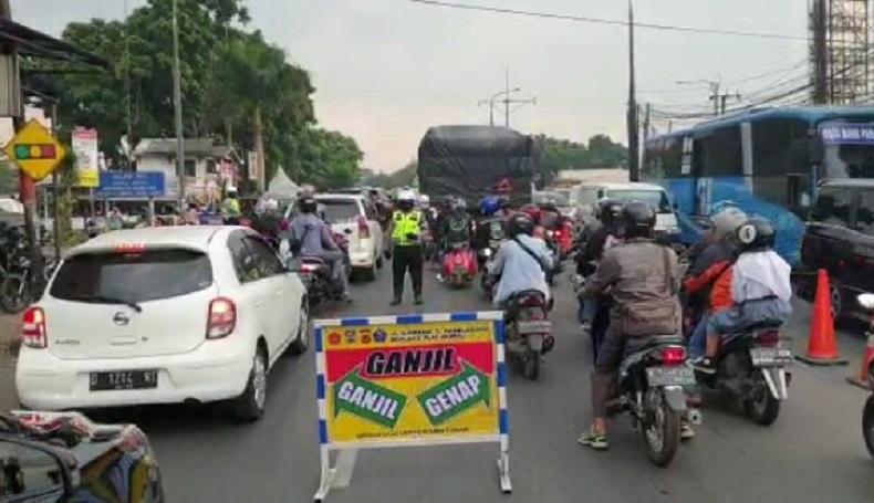 Ganjil Genap Diberlakukan di Lembang KBB, 2 Lokasi Ini Jadi Titik Penyekatan