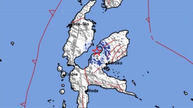 Gempa Magnitudo 3,7 kembali Guncang Maba Halmahera Timur