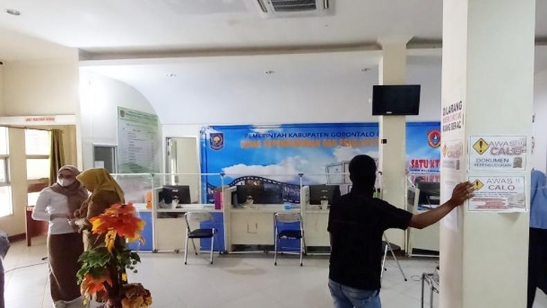 Belum Terima Gaji, Staf Honorer Disdukcapil Gorontalo Utara Mogok Kerja