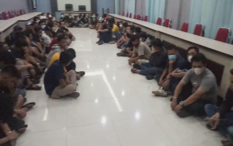Positif Konsumsi Ekstasi, 17 Perempuan Seksi Pengunjung Kafe di Palembang Diserahkan ke BNN