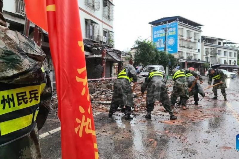 Gempa di Sichuan China Makan Korban Jiwa, Ribuan Orang Dievakuasi