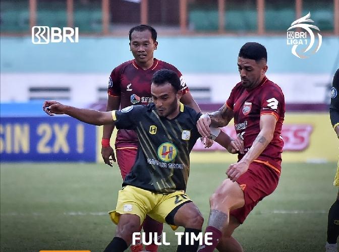 Boaz Solossa Starter, Borneo FC Ditahan Imbang Barito Putra