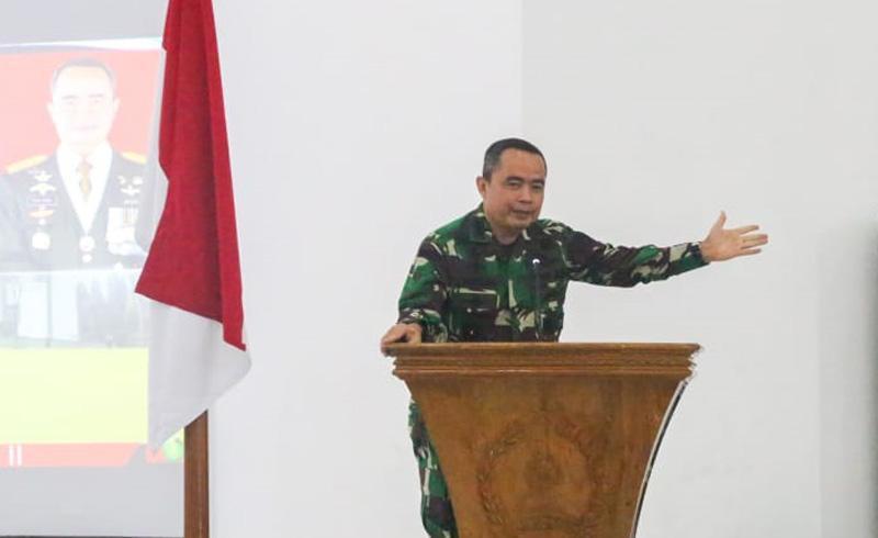 Danpusterad: Kehadiran Prajurit TNI untuk Bantu Kesulitan Rakyat Tak Hanya di Masa Pandemi