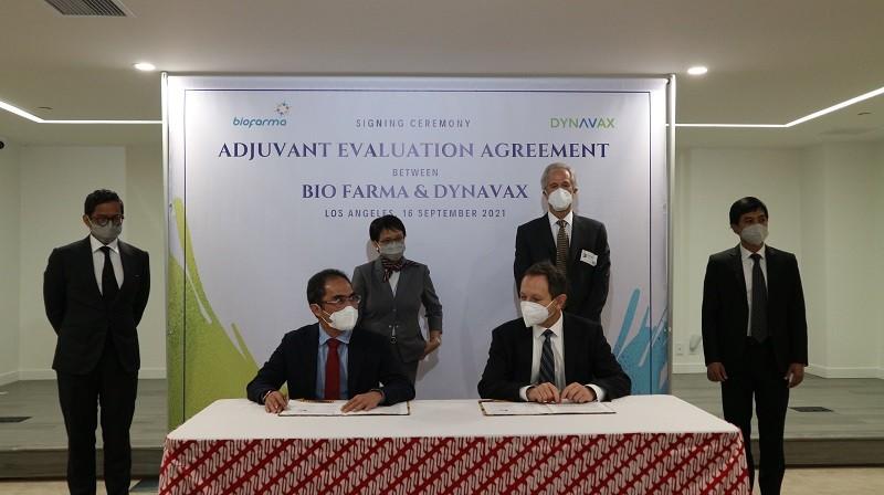 Indonesia Teken Kerja Sama dengan AS untuk Pengembangan Vaksin Covid-19 Produksi Bio Farma