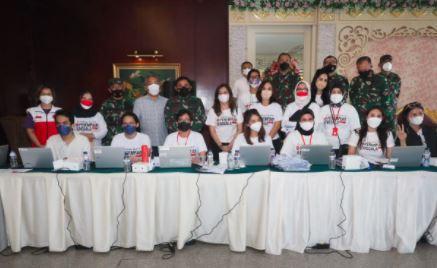 Dandim Tangerang Apresiasi Perempuan Jenggala Gelar Vaksinasi Covid-19