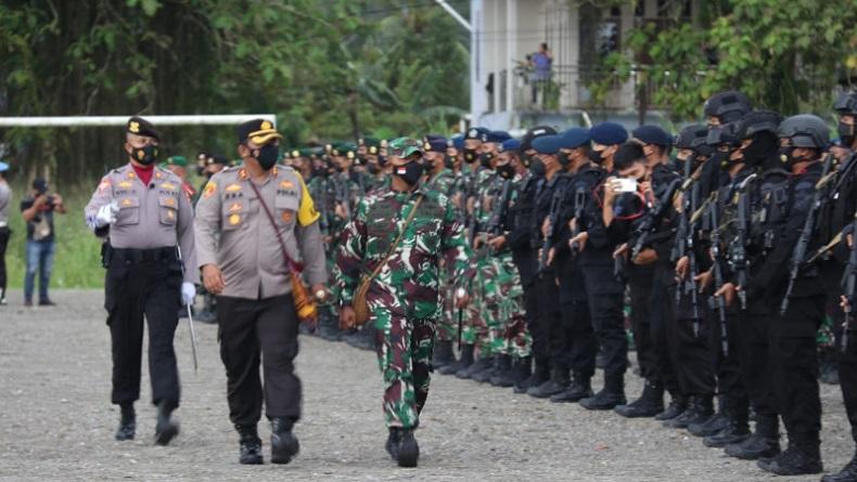 TNI Polri Antisipasi Gangguan Keamanan PON XX, Mimika Rawan Gesekan Antarsuku