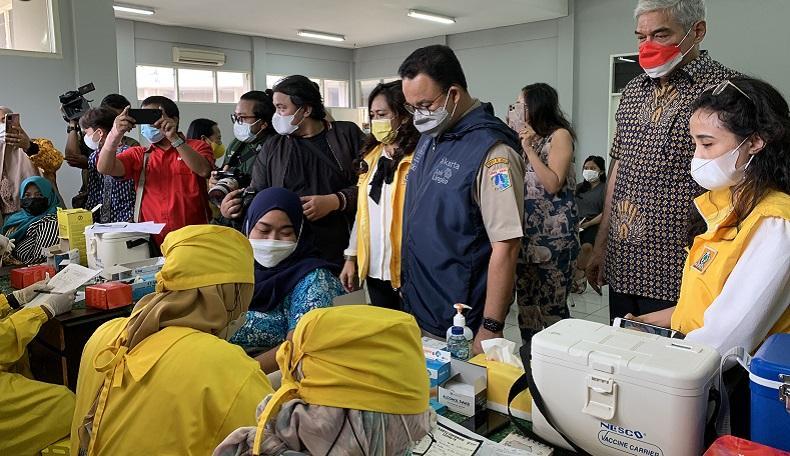 Anies Sebut Pandemi Covid di Jakarta Terkendali, Kasus Baru di Bawah 100