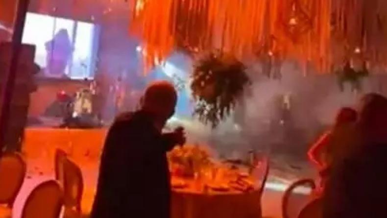 Pesta Pernikahan Megah Berubah Mengerikan karena Kembang Api