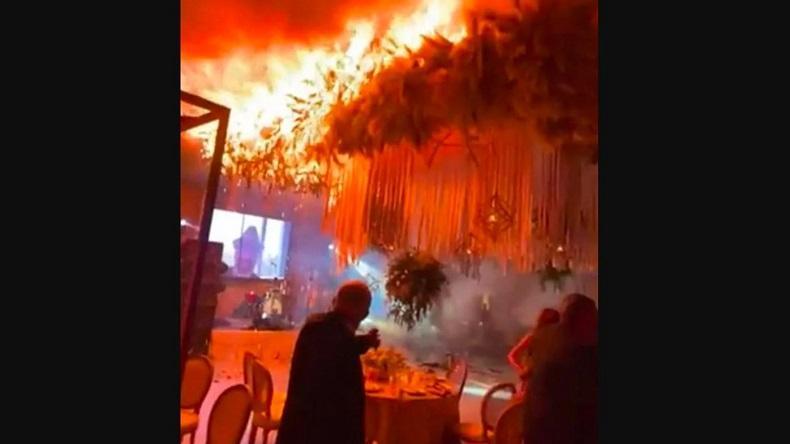 Pesta Pernikahan Megah Berubah Horor Gara-Gara Kembang Api