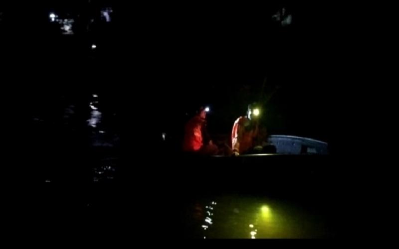 OKU Gempar, Remaja 15 Tahun Hilang Terseret Arus Sungai Ogan