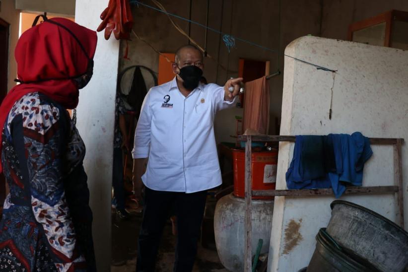 Masalah Limbah, Ketua DPD Dorong Inovasi Masker Ramah Lingkungan