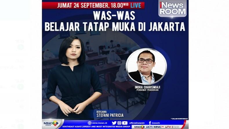 Waswas PTM di Jakarta, Selengkapnya di iNews Room