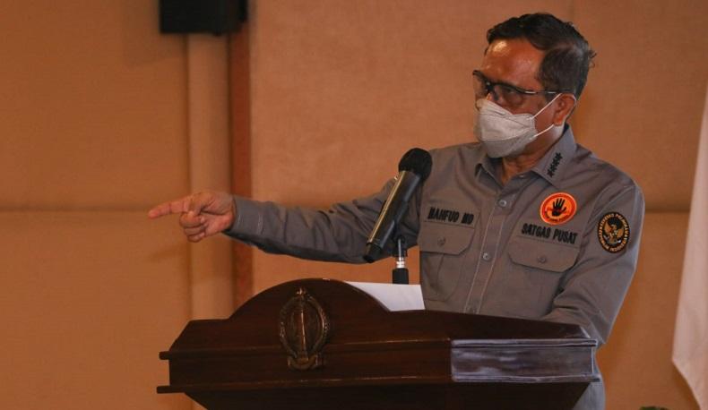 Tegaskan Penyerangan terhadap Ulama bukan Kriminalisasi, Mahfud MD: Jangan Terprovokasi