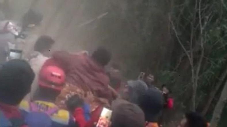 Gibran Ditemukan Selamat setelah Hilang 6 Hari di Gunung Guntur