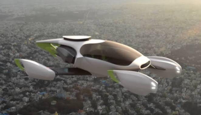 India Akan Bangun Mobil Terbang Listrik