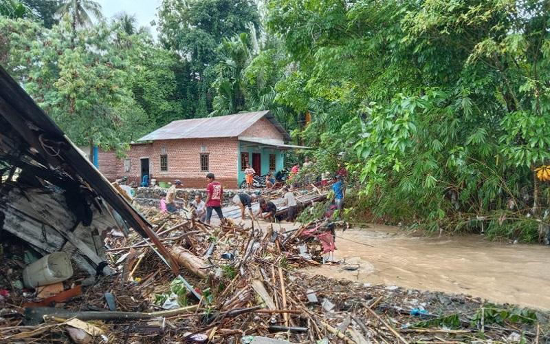 Usai Hujan Deras, Banjir Bandang Terjang Delapan Kelurahan di Kota Lubuklinggau