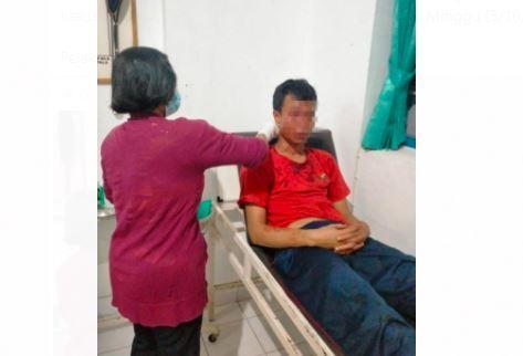 Tahanan Gangguan Jiwa Mengamuk di Sel Lapas Karangasem, 1 Orang Terluka