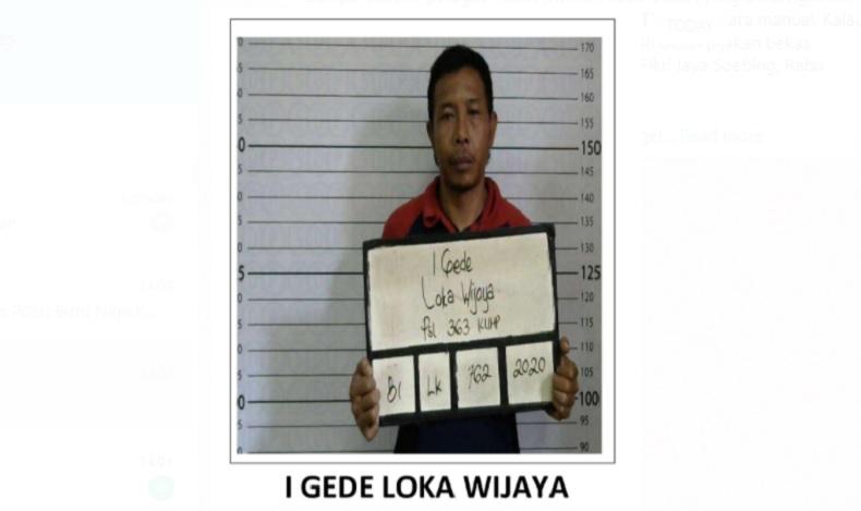 Petugas Lapas Kerobokan dan Polisi Buru Napi Kasus Pencurian yang Kabur