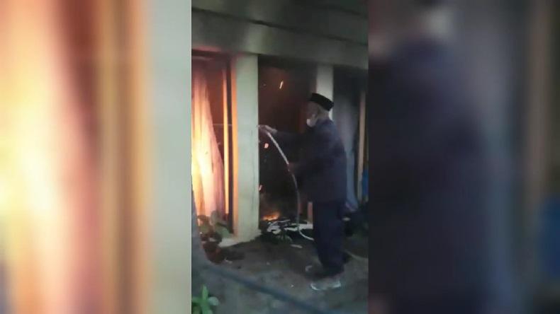 Rumah Dinas Kapolres Parepare Terbakar