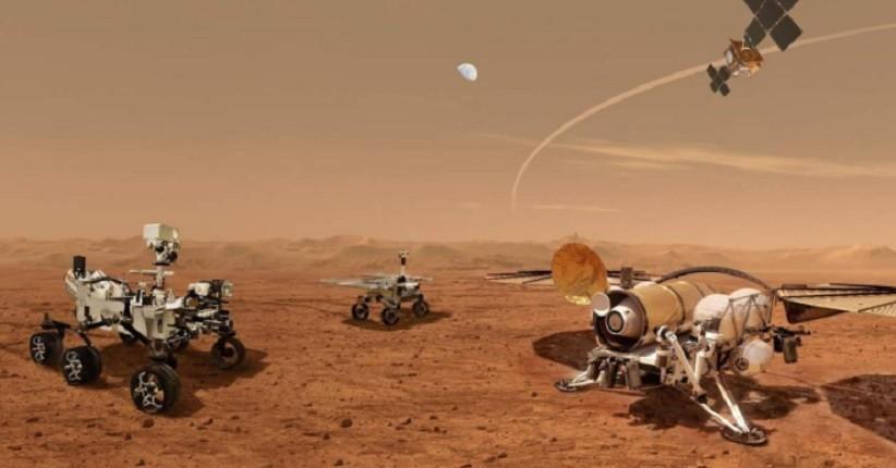 Sampel Mars Pertama NASA Siap untuk Perjalanan ke Bumi