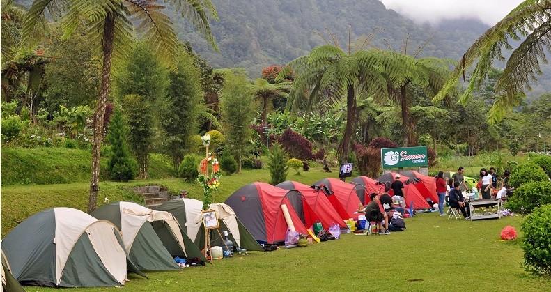 5 Tempat Camping di Buleleng Bali, Panorama Indah