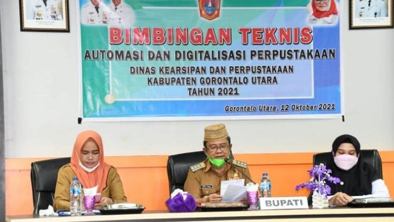 Perpustakaan Gorontalo Didorong Tingkatkan Minat Baca Masyarakat di Era Digital