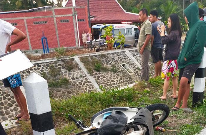 Motor Tabrak Pikap, 2 Perempuan Tewas Masuk Saluran Irigasi di Panjatan Kulonprogo