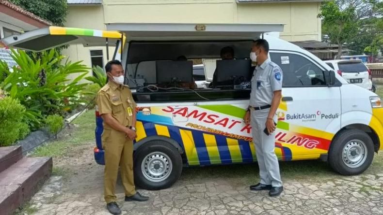 Kabar Baik, Samsat Keliling Kini Ada di Lampung Selatan