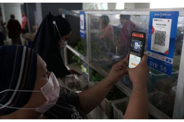 Pasar Tradisional Prawirotaman Siap Terapkan QR Code PeduliLindungi