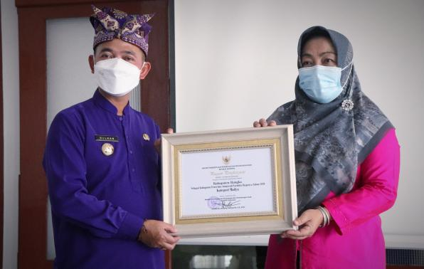 Bangka Raih Penghargaan Anugerah Parahita Ekapraya 2021