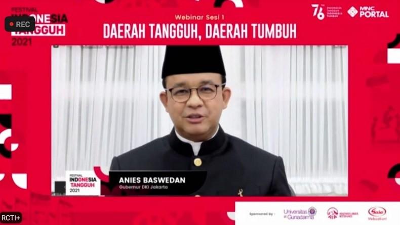Anies : Bila Kasus Covid di Jakarta Terkendali, Dunia Internasional Percaya sama Kita