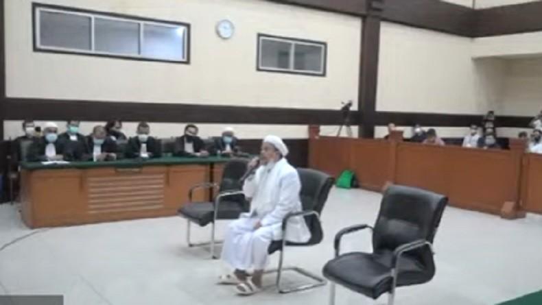 Divonis Empat Tahun Penjara Perkara RS Ummi, Habib Rizieq: Saya Menolak dan Nyatakan Banding