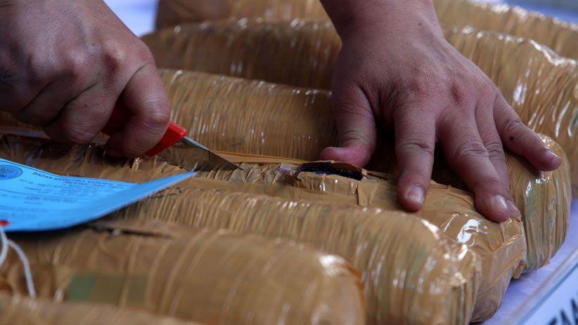 BNNP Jawa Timur Musnahkan Barang Bukti Narkotika Jaringan Malaysia