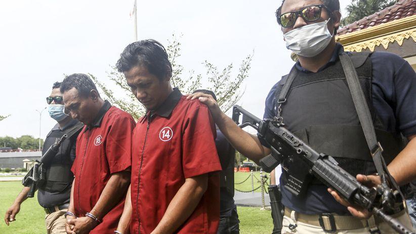 Polisi Tangkap Sipir Lapas Anak Pengedar Sabu