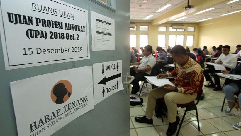Gelar Ujian Profesi Advokat 2018, Peradi Utamakan Zero KKN - Bagian 2