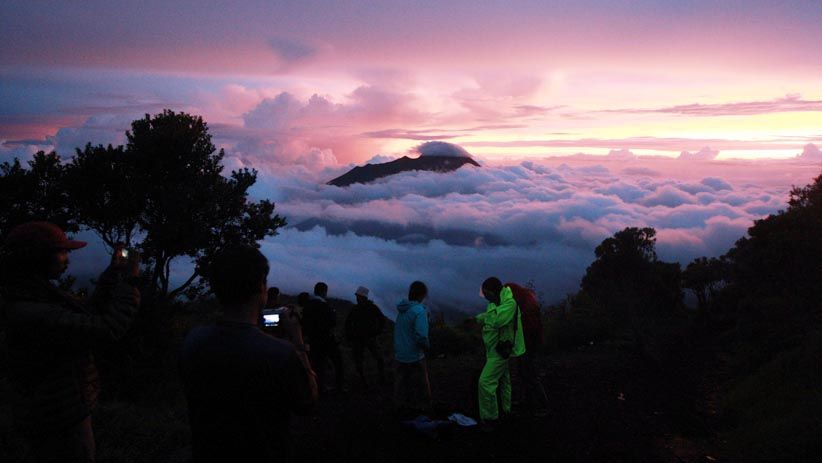 Menikmati Keindahan Alam dari Puncak Gunung Merbabu