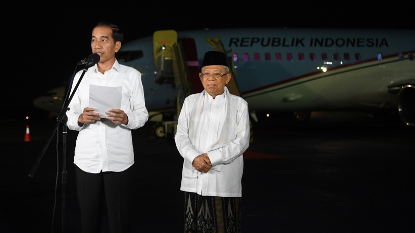Pidato Kemenangan, Jokowi-Ma'ruf Amin Minta Rakyat Indonesia Bersatu - Bagian 2