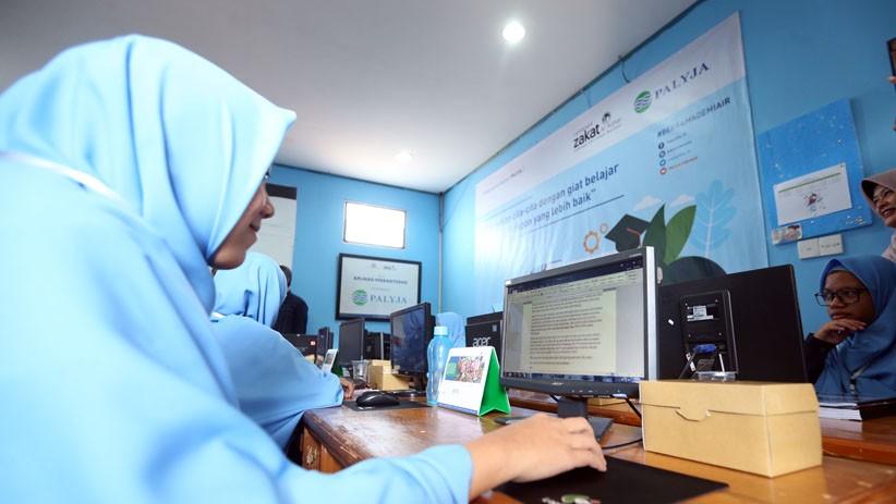 PALYJA Berikan Beasiswa Pelatihan bagi Remaja Putus Sekolah dan Kurang Mampu