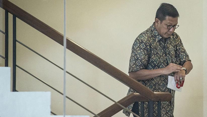 KPK Periksa Mantan Menteri Agama Lukman Hakim Saifuddin