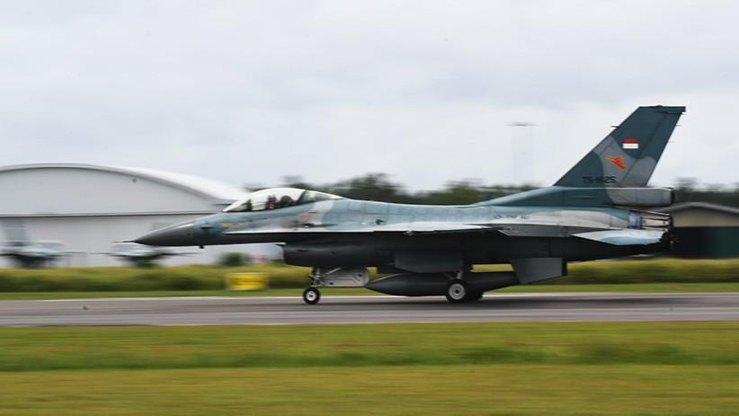 Jaga Wilayah NKRI, Empat Pesawat Tempur F16 TNI AU Tiba di Natuna