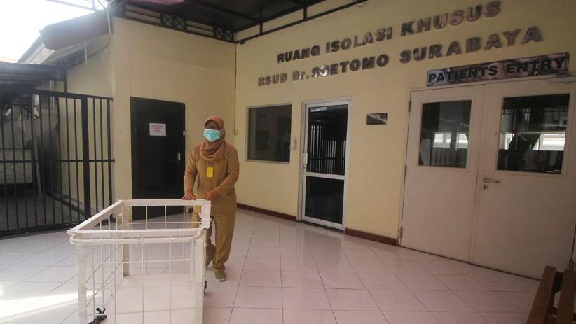 Waspada Virus Korona, RSUD dr Soetomo Surabaya Isolasi Warga China